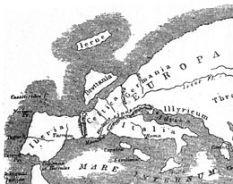 carte europe selon strabon